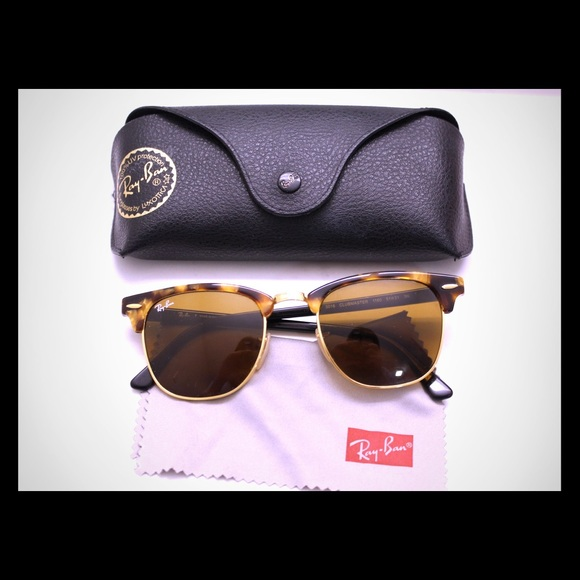d61424c9aa0 ... where to buy ray ban clubmaster style sunglasses. like new 15a15 1720a
